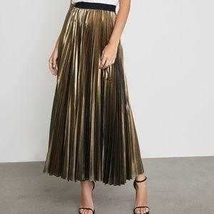 NWT! 🏷 BCBG Gold skirt